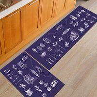 Carpets Oil-proof Floor Mat For Kitchen Non Slip Entrance Door Bathroom Indoor Carpet Long Strip Rug Home Doormat