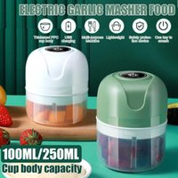 Blender Wireless Electric Garlic Press Household Portable Meshed Device Mini Meat Grinder Baby Complementary Food Mixer