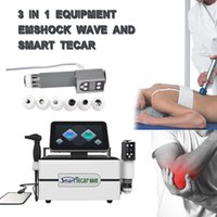 3 IN 1 Smart Tecar CET RET EMS Shock Wave Therapy Machine ED Treatment Body Fat Removal Pain Relief