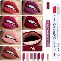 Batom Multifuncional Double Head + Lip Gloss Link Color Batons