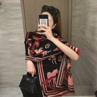 2021 New Silk Scarf Women Fashion Foulard Satin Shawl Scarves Big size:182*65 CM Square Hair   Head Bandana Hijab Handkerchief