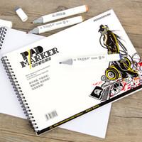 Dainayw a4 a5 4k спиральный маркер прокладка ноутбука бумаги эскиз канцелярских товаров блокнот для дизайнеров рисования анимации манга арт искусства
