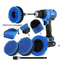 Power Scrub Brush head Drill Cleaning Brushes For Bathroom Shower Tile Grout Cordless Powers Scrubber DHF10205
