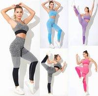 Womens Trainingsanzüge Sportanzüge Pants Designer Yoga Kleidung Anzug Sportswear Fitness 2 stücke Gym Gitgings Outfit Yogaworld Elastische Trainingsanzug Frauen Mode Fit aktiv