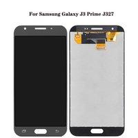 Samsung Galaxy J3 için Prime Dokunmatik Paneller Onarmak için kullanılan Telefon Ekran Yüksek Kalite Orijinal J327 J327P Emerge Digitizer Yedek Montaj LCD Ekran