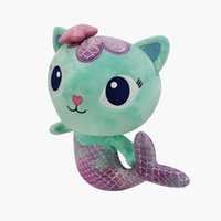 New Gabby doll house Mermaid cat plush toy Gabby's Dollhouse season