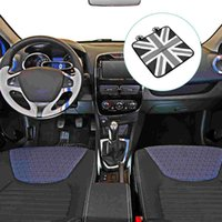 Car Seat Covers 1pc Ice Silk Mat The Union Flag Design Cool Cushion Summer