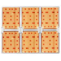 Spectrum completo Samsung 281b LED Grow Light Light 1000W 2000W 4000W 6000W 3000K + 5000K + 660nm Plant Dimmable Grow Lamp LED con Dimmer Driver