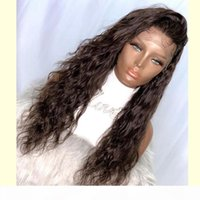 Simbeauty Loose Deep Wave Chocolate Brown 360 Lace Front Wigs Soft Silky 150 Density Full Lace Human Hair Wigs