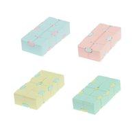 1 unids niños adulto descompresión juguete rompecabezas juguetes aliviar el estrés gracioso juego de mano cuatro esquina laberinto juguetes juguetes