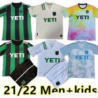 21 22 MLS Austin FC Soccer Jerseys Cecilio Ring Besler Fagundez Pochettino Home Kit Away 2021 Homens + Crianças Camisas Futebol Camisetas Fútbol