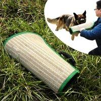 Dog Apparel Training Agility Equipment Pet Bite Tug Jute Sleeve For Arm Cover