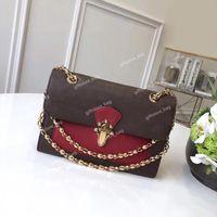 Moda Clássica Mulheres Paris Estilo Chain Saco De Ombro Carteira De Luxo Designer Messengerbag L Frete Freespipping