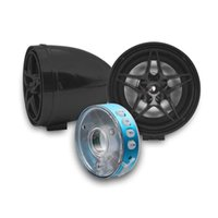 Car Load Waterproof Motorcycle Audio Radio Sound System Stereo Speakers MP3 USB Bluetooth