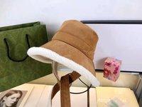 Designer دلو قبعة casquette قبعة قبعة رجل امرأة القبعات الجلود مع واسعة بريم الدافئة البرد دليل 3 ألوان أعلى جودة