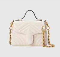 Роскошные замшевые сумки женщины крест дизайнеры тела сумочка плечо классические оригинальные кожи стиль сердца золотая цепочка Tote Messenger сумочки 20
