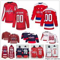 Capitales de Washington personnalisées 65 Andre Burakovsky 25 Devante Smith-Pelly 44 Brooks Orpik 29 Christian Djoos Hommes Femme Enfants Jeux de Hockey Jers