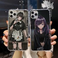 Beautiful anime girl Phone Case For iPhone 11 12 Pro Max XR X XS Max 5 5S SE 2020 7 8 6 6S Plus Silicone Back Cover