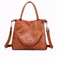 Women Large Hobo Purses Shoulder Bag Leather Handbag Removalbe Shoulders Strap Double Carry Handles Designer Bags
