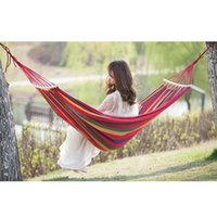 Camp Furniture On Sale Single Double 280x150cm Garden Swings Outdoor Camping Hammock Hanging Chair Bed Portable