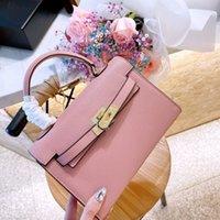 نفس حقيبة الكتف هيرمي رسول حقيبة أحدث hbutton جلد المرأة حقيبة صغيرة السيدات أزياء السيدات الصمامات اليد EK2T XYM