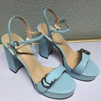 verano súper altas tacones mujeres sandalias plataforma de zapatos 13 cm tacón tacón para mujer hebilla correa suave genuino de cuero calidad sandal sandal zapatos de tamaño grande gratis 35-42