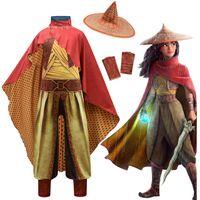 Косплей Рая и последний Dragon 4558 Baby, материнские детские детские костюмы одежды