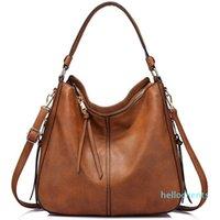 REALER Handbags Women Shoulder Crossbody Bag Female Casual Large Totes High Quality Artificial Leather Ladies Hobo Messenger'bag