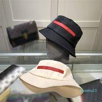 Ducket Hat Fashion Designers الصيف الكلاسيكية للرجال والنساء الصياد الفموي ضوء ظلة تنفس ذات جودة ممتازة