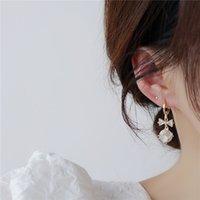 2021 Sliver Charm Pendientes Estética para Mujeres Moda Accesorios de estilo coreano Brincos Party Jewelry Regalo