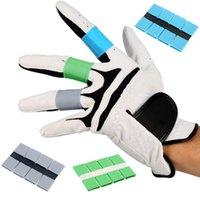 Grips del club 8pcs Unisex Multi Color Golf Finger Support Support Modelos Protector de manos Accesorios deportivos al aire libre