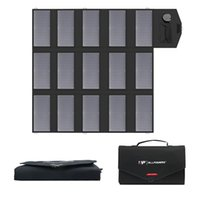 100W Foldable Solar Handbag with Charger Solar Panel Charger Mini Power Bank Battery USB Portable