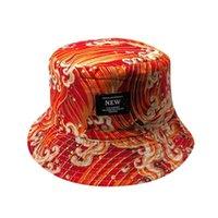 Cloches Moda Aksesuarları Şapka Yüksek Kaliteli Pamuk Rahat Ayarlanabilir Kap Baskı Güneş Geçirmez Boonie Şapkalar Nepal Erkekler Balıkçı