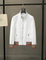 2021 оптом модная куртка осень и зима тонкий подходит дизайнер одежда мужская повседневная пилотное пальто M-3XL 011