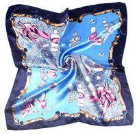 Verão outono e inverno lenços lenço feminino imitação wersatile profissional pequeno quadrado quadrado scarf ood5925