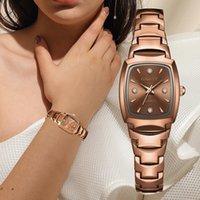 Relojes de diseño de lujo y relojes de lujo relojes de marca de diseño de femmes, o rosa, Modo de luxe, Strass Ellipse, Montre Dames de cráneo de cuarzo