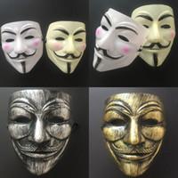 V Маска Хэллоуин Полное лицо Маскарада Маска Маска Вендетта Анонимный парень Партия Косплей ужасов Маски Cyz3032