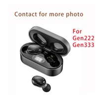 Noise reduction Wireless Earphone Chip Transparency Headphones Rename GPS Wirless Charging Bluetooth Headset For Cell Phone Wholesale Cheaper Earbuds Fast Ship