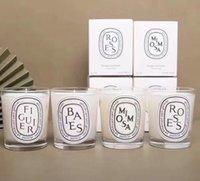EPACK 200g 단단한 향수 유명 향수 촛불 Baiier roesssealed 선물 상자