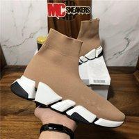 Top Quality Homens Mulheres Mulheres Designers Sapatos Casuais SUOCKS VELOCIDADE 2.0 Treinadores Triple S Tênis Preto Mens Mulheres Ao Ar Livre Plataforma Esporte Sneaker