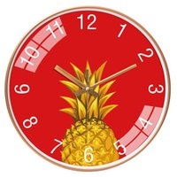 Wall Clocks Watch Clock Living Room Home Atmosphere Free Punch Creative Fashion Simple Net Red Bedroom Mute