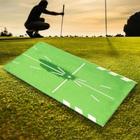 Outdoor Golf Training Mats Swing Detection And Hitting Porta...