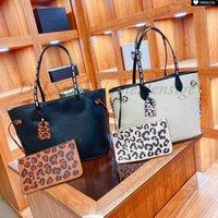 Leopardo mm PM Tote Borsa in pelle Borsa da donna Borsa da donna con sacchetto portafoglio composite borse da spiaggia shopping frizione selvaggia a cuore capsula borsa in tela