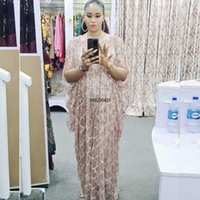 Piece Set African Maxi Dresses For Women Dashiki Diamond Clothes Bazin Broder Riche Sexy Slim Robe Evening Long Dress Ethnic Clothing