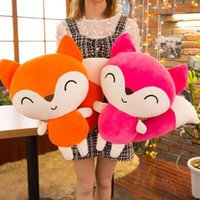 23cm Kawaii 인형 여우 플러시 인형 동물 장난감 어린이 소년 베개 여우 부드러운 장난감 인형
