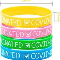 Vaccinazione in silicone braccialetti in gomma cinturino in gomma cinturino sportivo braccialetti moda ragazze gioielli per bambini boutique all'ingrosso H414YWJ
