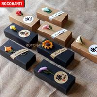 Emballage cadeau 100X Papier en carton sur commande de papier à lèvres de table de stockage de tubes de rangement avec votre propre logo imprimé