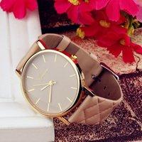 デザイナーラグジュアリーブランド腕時計Ororogio Donna GenevaレディヤーレザーストラップファッションダイヤルレディースリロースQuarzo Reloj Mujer