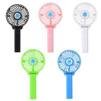 Portable USB Mini Fan Battery Rechargeable Foldable Handle Cooler Cooling Fans Cooler for Outdoor Sports Travel