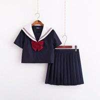 Clothing Sets 2021 Uniforms Japanese School Uniform Japan And South Korea Sailor Suit Costumes Anime COS Academic Female